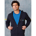GILET CAPUCHE MOLLETON FIT MIXTE
