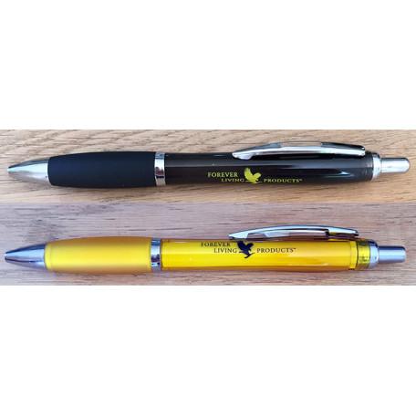 STYLO PLASTIQUE PAR 20 (noir et jaune)
