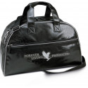 Forever Leather look weekend travel bag.