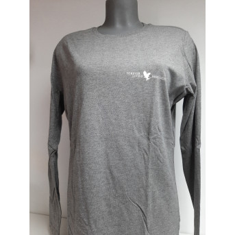 Womens long sleeve tee shirt FLP with eagle