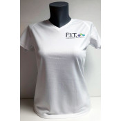 Tee Shirt FIT SPORTIF FEMME COL V